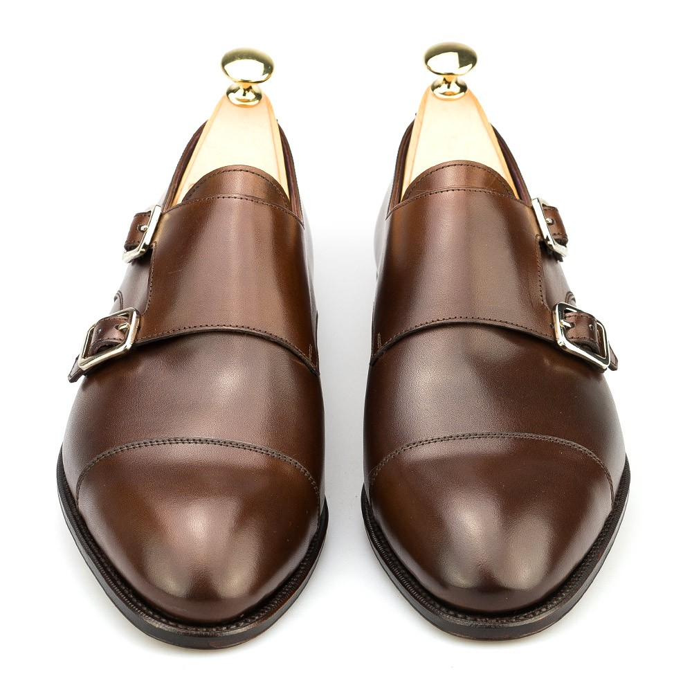 double monk stap shoes