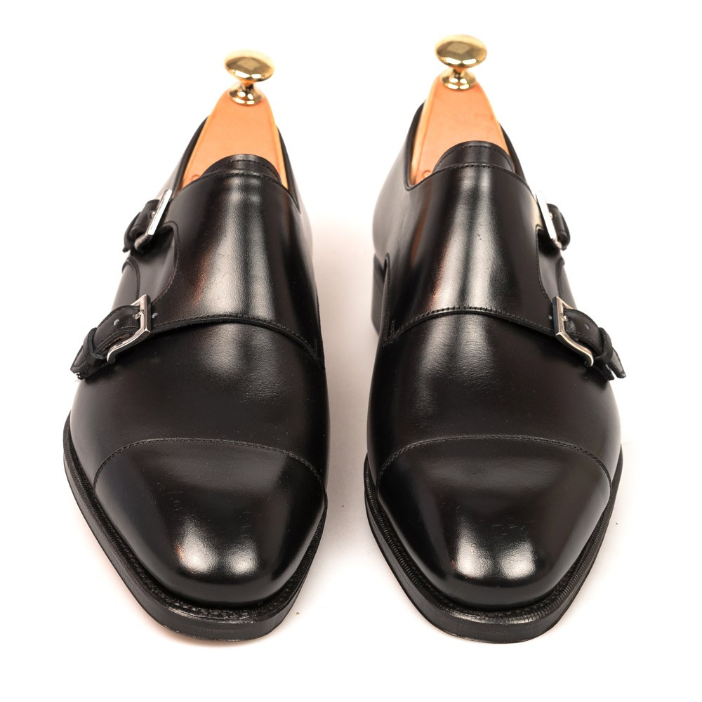 DOUBLE MONK STRAPS 80544 RAIN D, EE or EEE