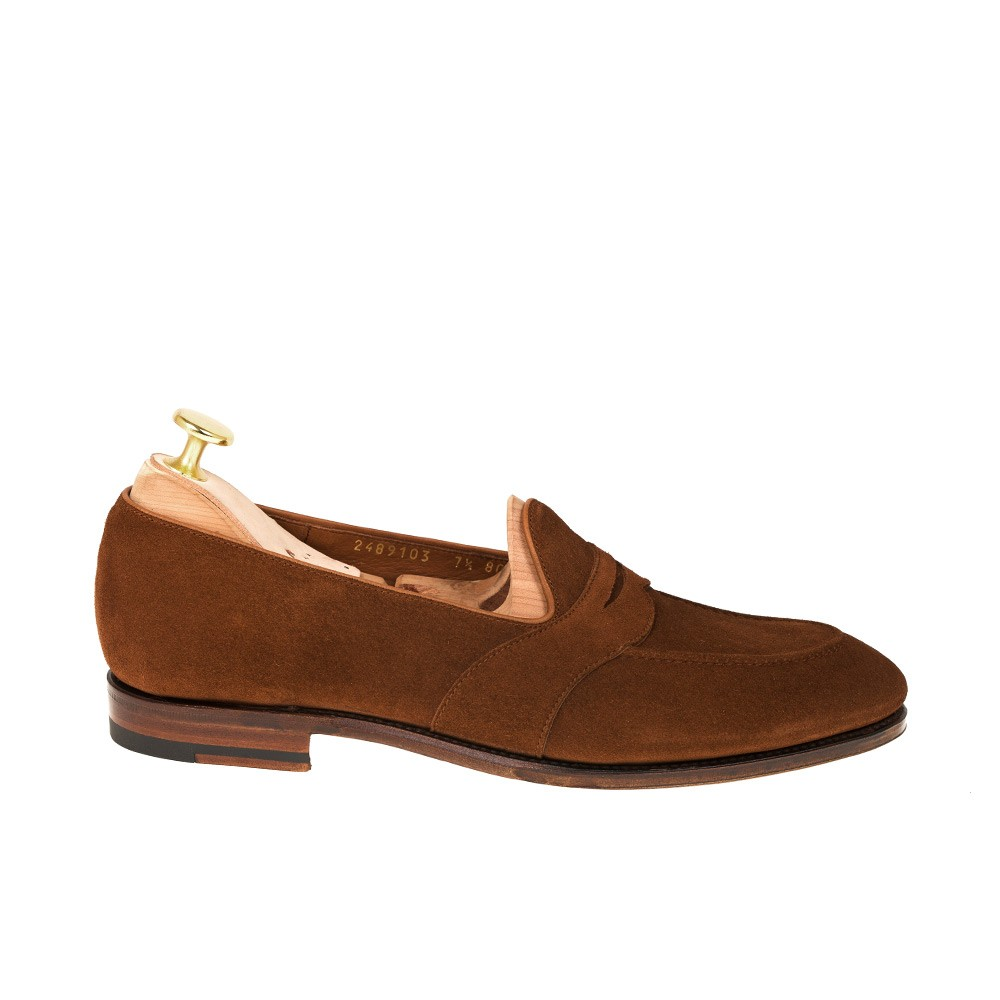 UNLINED FULL STRAP PENNY LOAFERS 80708 UETAM (INCL. SHOE TREE)