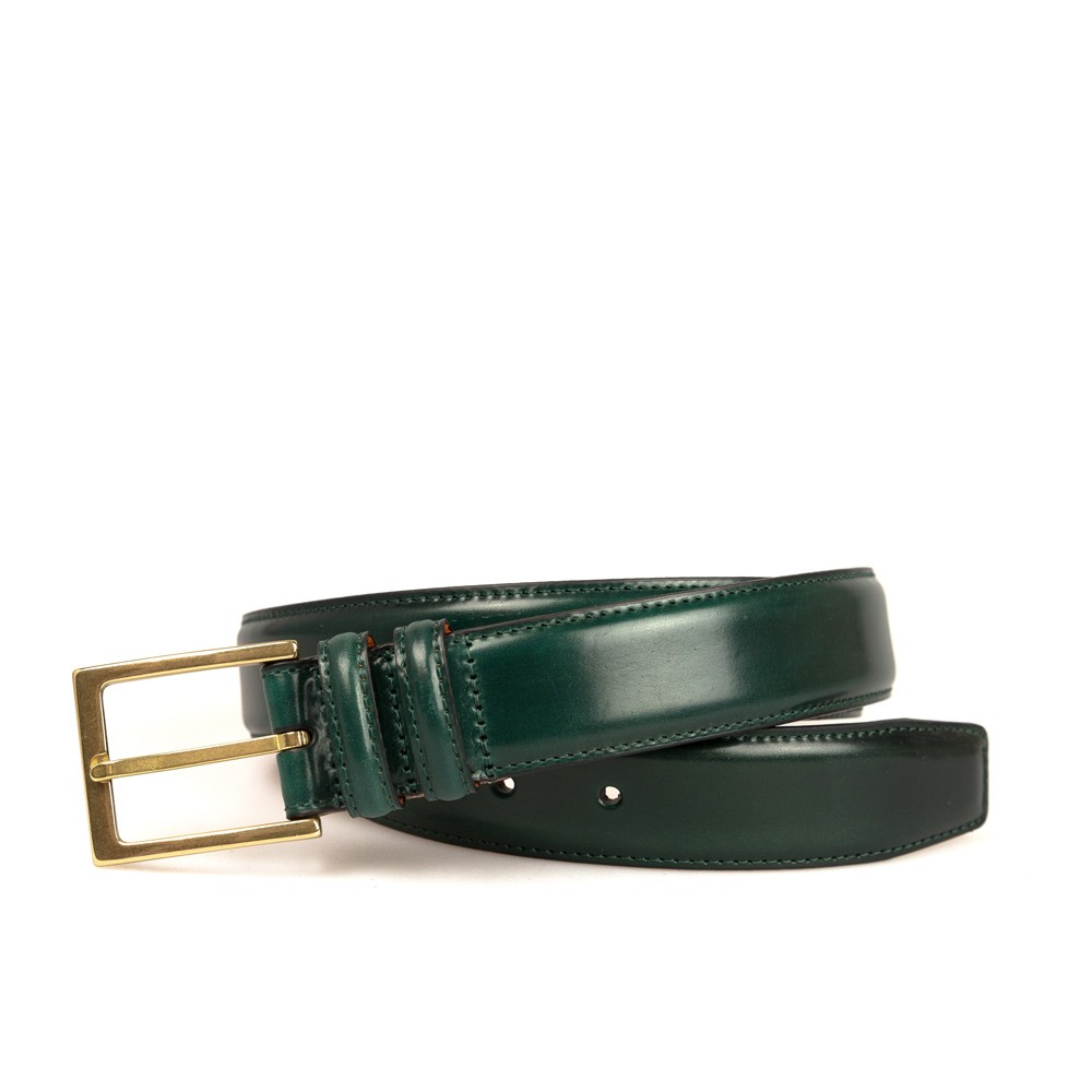 GREEN CORDOVAN BELT
