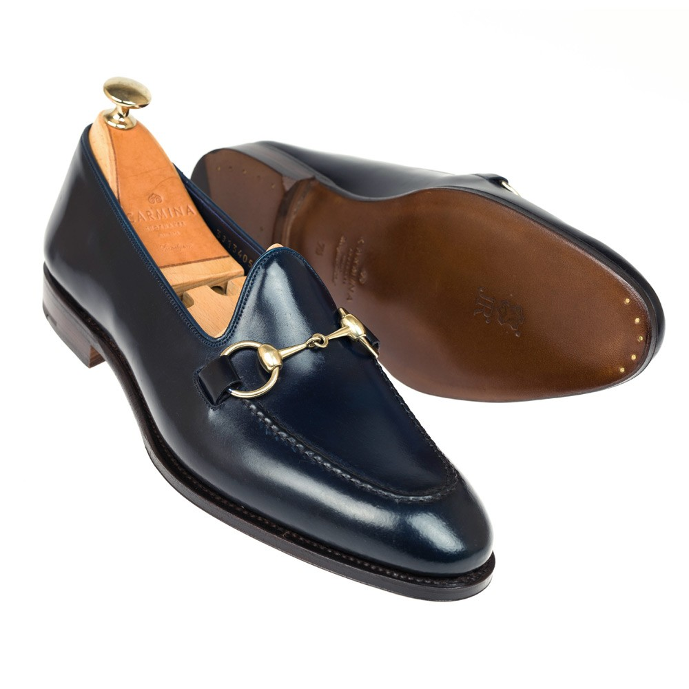 UNLINED CORDOVAN HORSEBIT LOAFERS 80643 UETAM