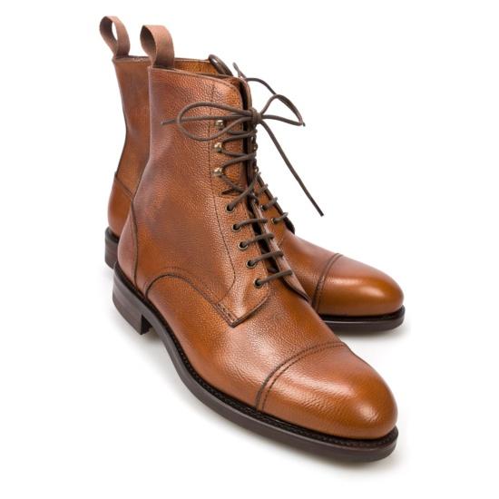 Mens Chestnut Jumper Chelsea Boots Carmina