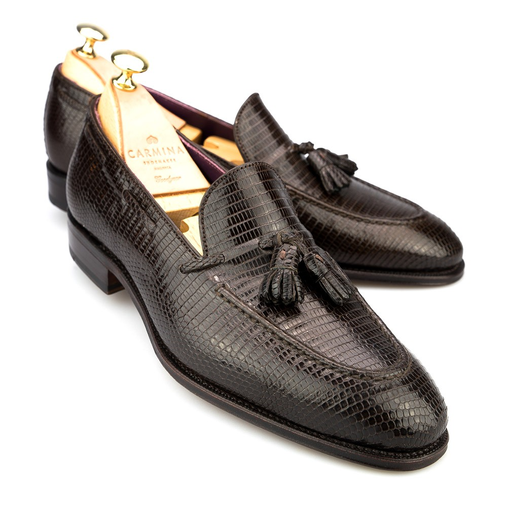 LIZARD TASSEL LOAFER 80215 UETAM