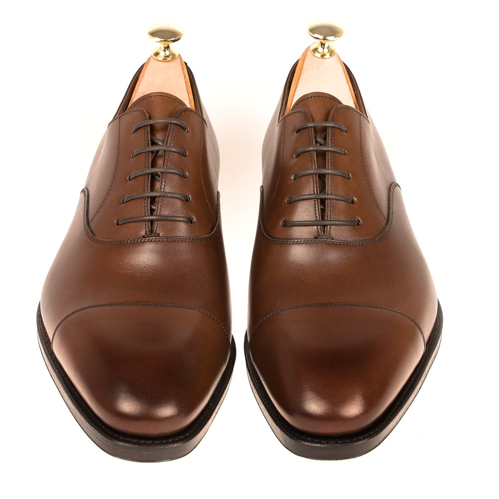 BROWN OXFORD SHOES 80386 RAIN