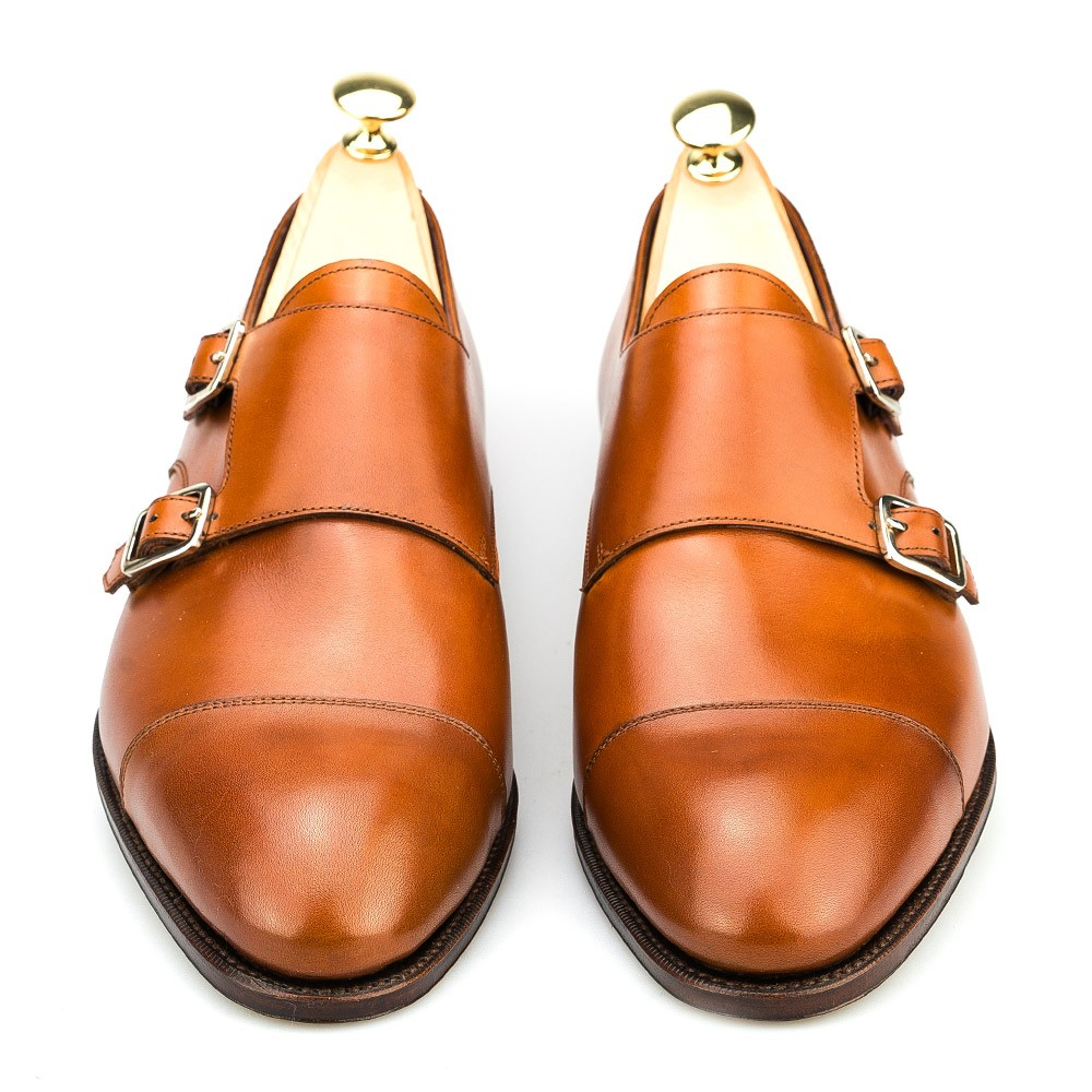 Vegano monk strap shoes
