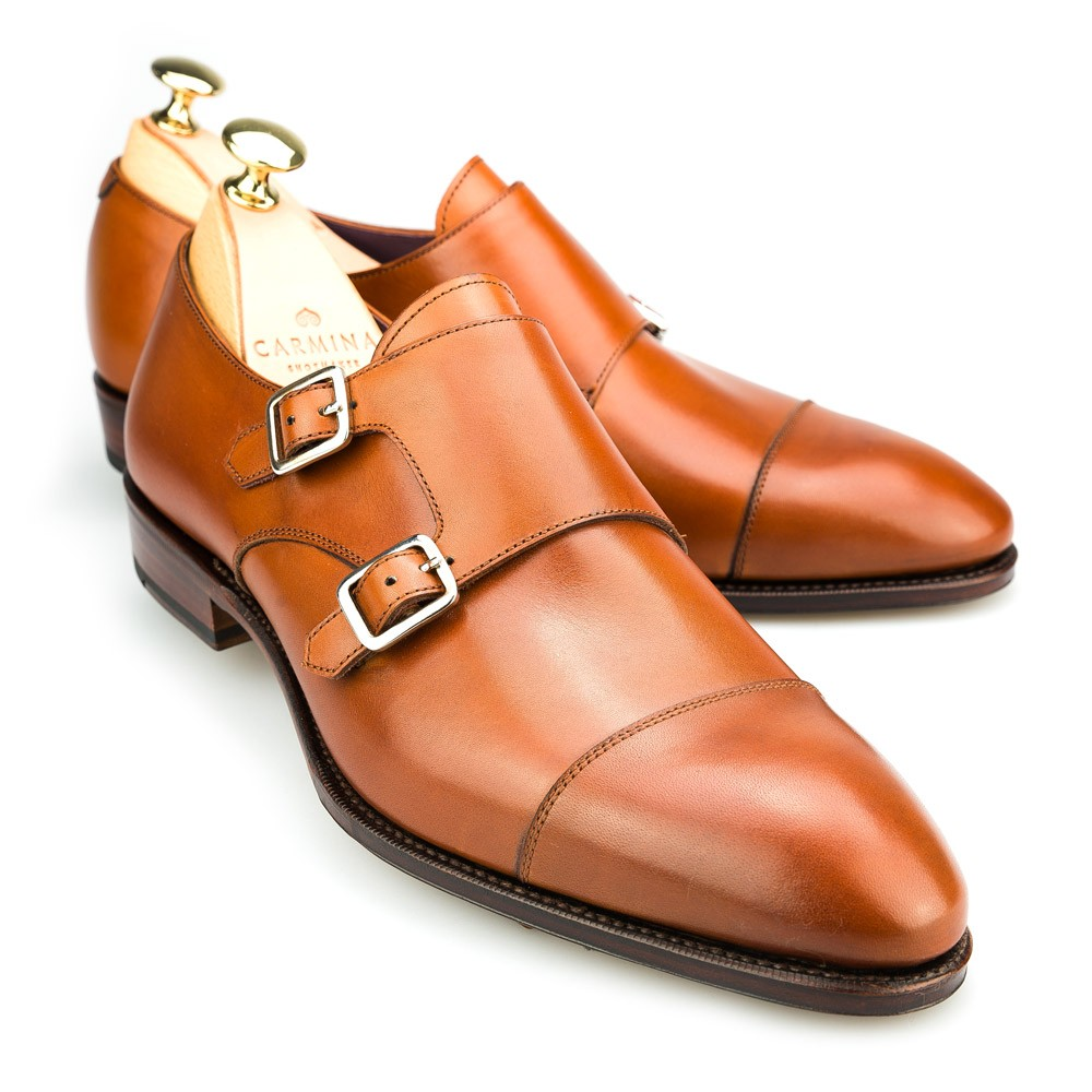 Crockett and Jones Double Monk Strap Shoes Find this Pin and more on MONK STRAP SHOES by Teddy Nguyen. These men's double monk strap shoes are made from genuine calfskin with Goodyear welting to ensure durability and exceptional wear.
