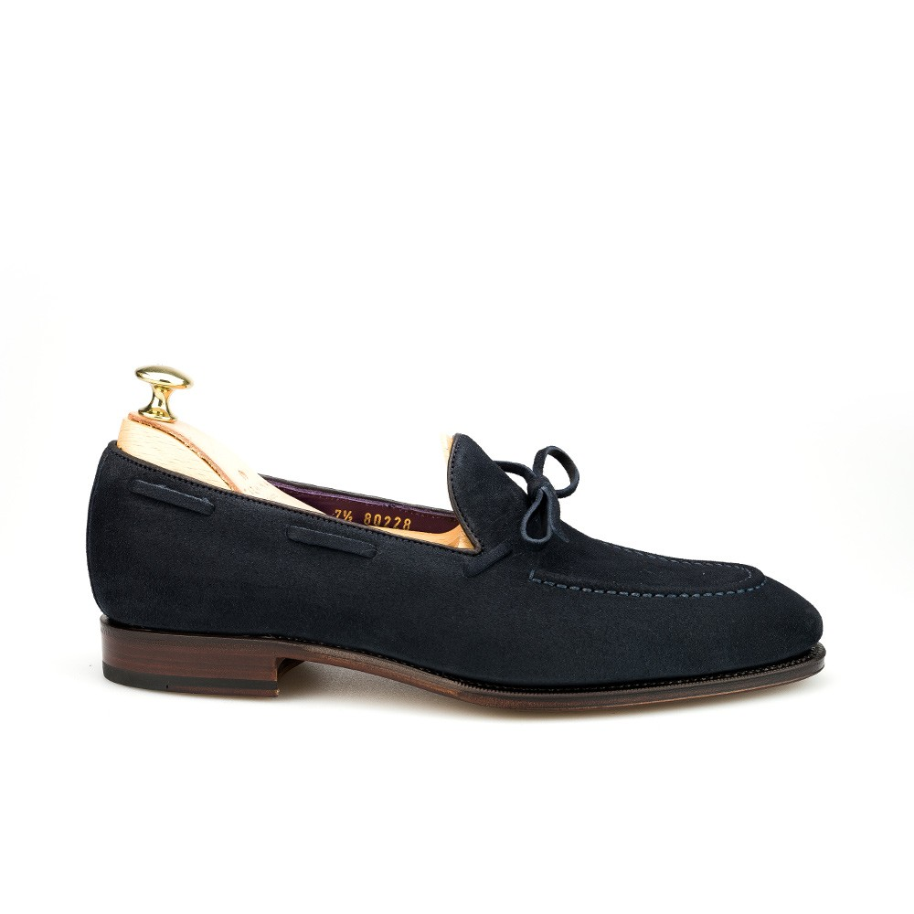 Men's string loafers