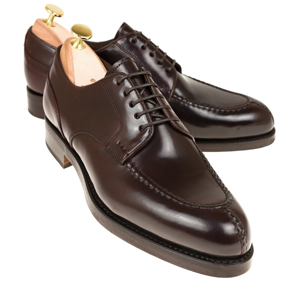 CORDOVAN NORWEGIAN SHOES 80414 FOREST