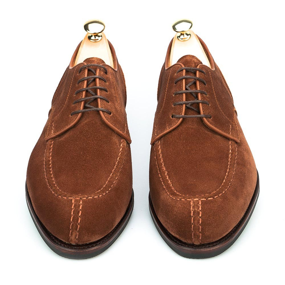 NORWEGIAN BLUCHER IN POLO SUEDE CARMINA 80414