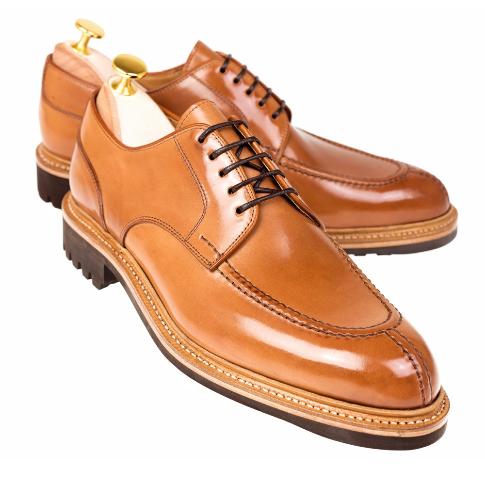 CORDOVAN NORWEGIAN SHOES 80414 FOREST ( INCL. SHOE TREE )