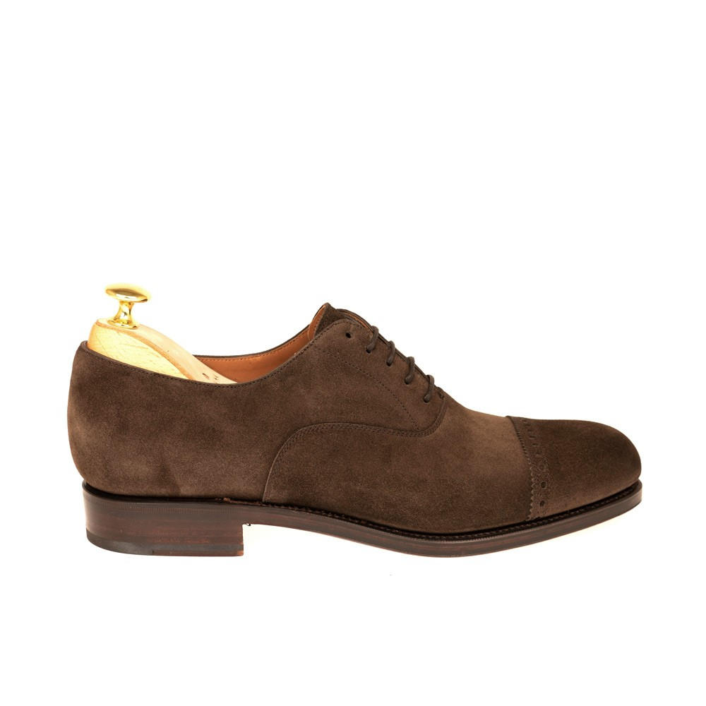 CAP TOE OXFORDS 762 FOREST