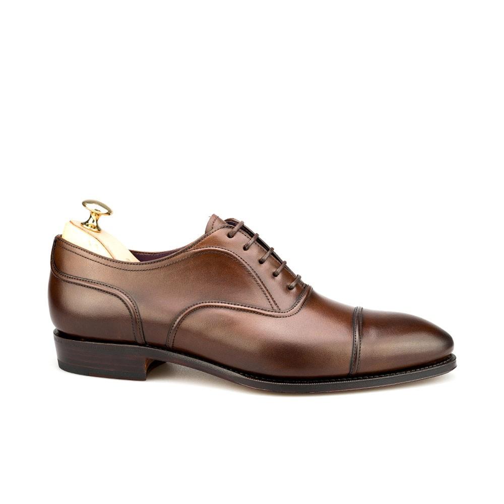 zapato inglés en marrón de hombre