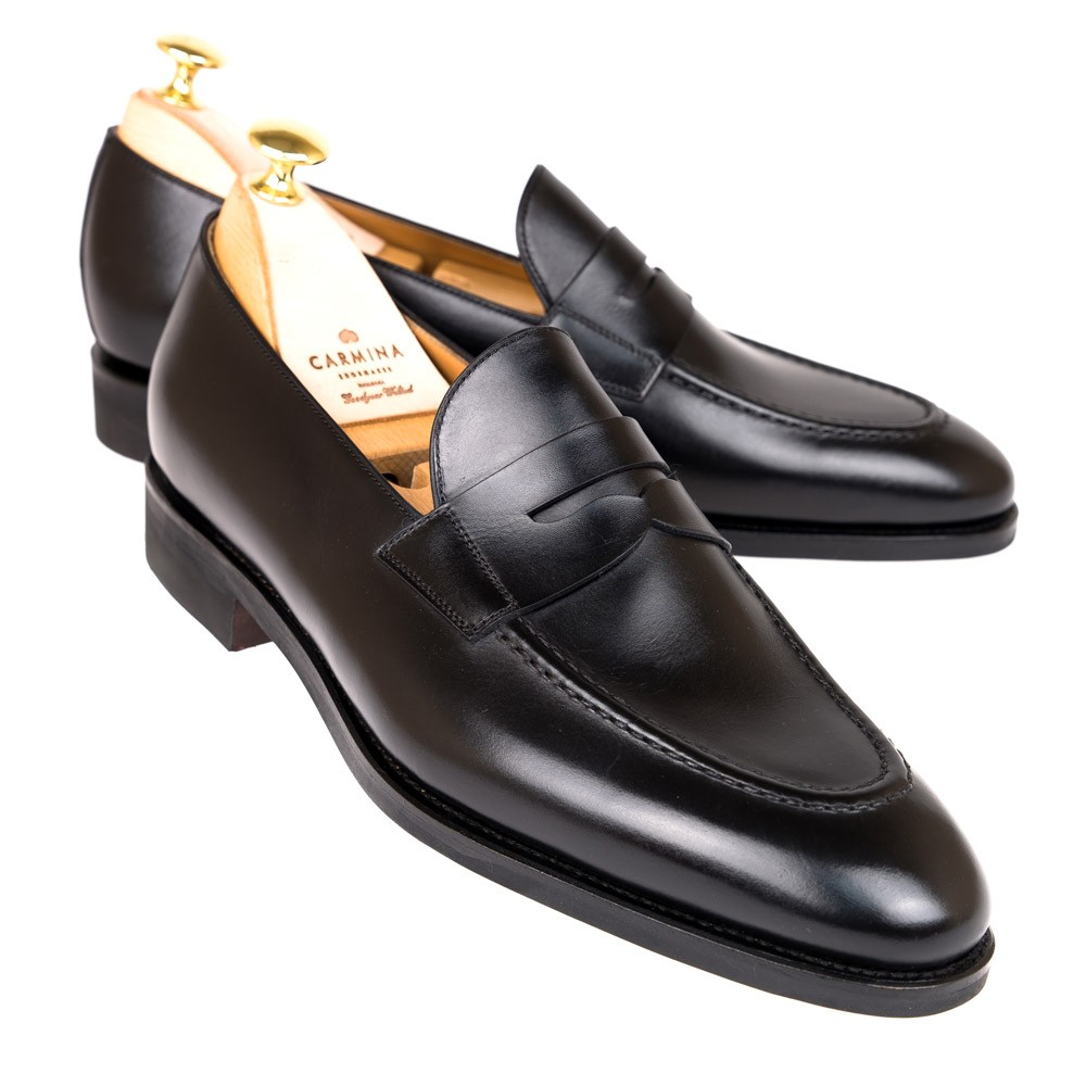 BLACK PENNY LOAFERS 80599 ARTA