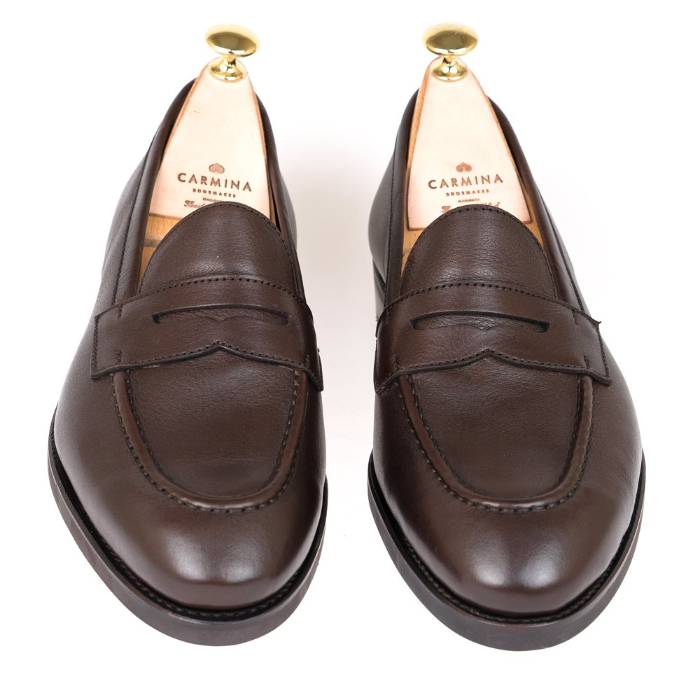 BROWN PENNY LOAFERS 80191