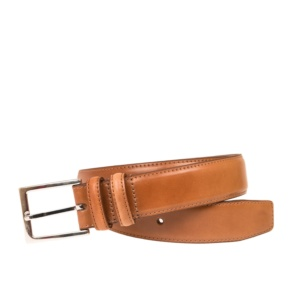SADDLE CORDOVAN BELT