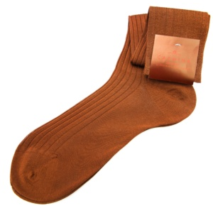 Brown long socks