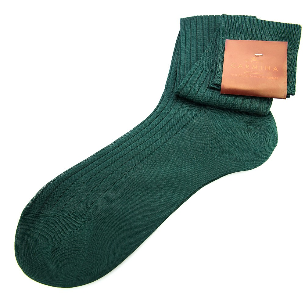 Green long socks