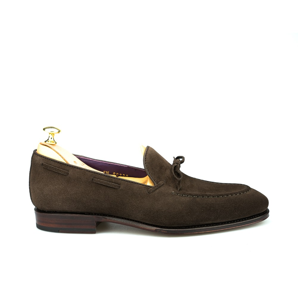 Men loafers in brown