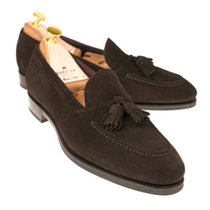 d1c7b3f7d08 TASSEL LOAFERS 80215 UETAM. TASSEL LOAFERS IN BROWN SUEDE