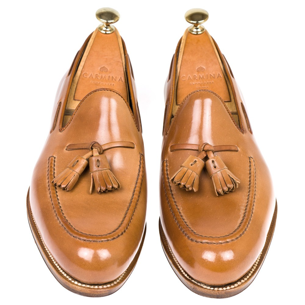 CORDOVAN TASSEL LOAFERS 80367 FOREST