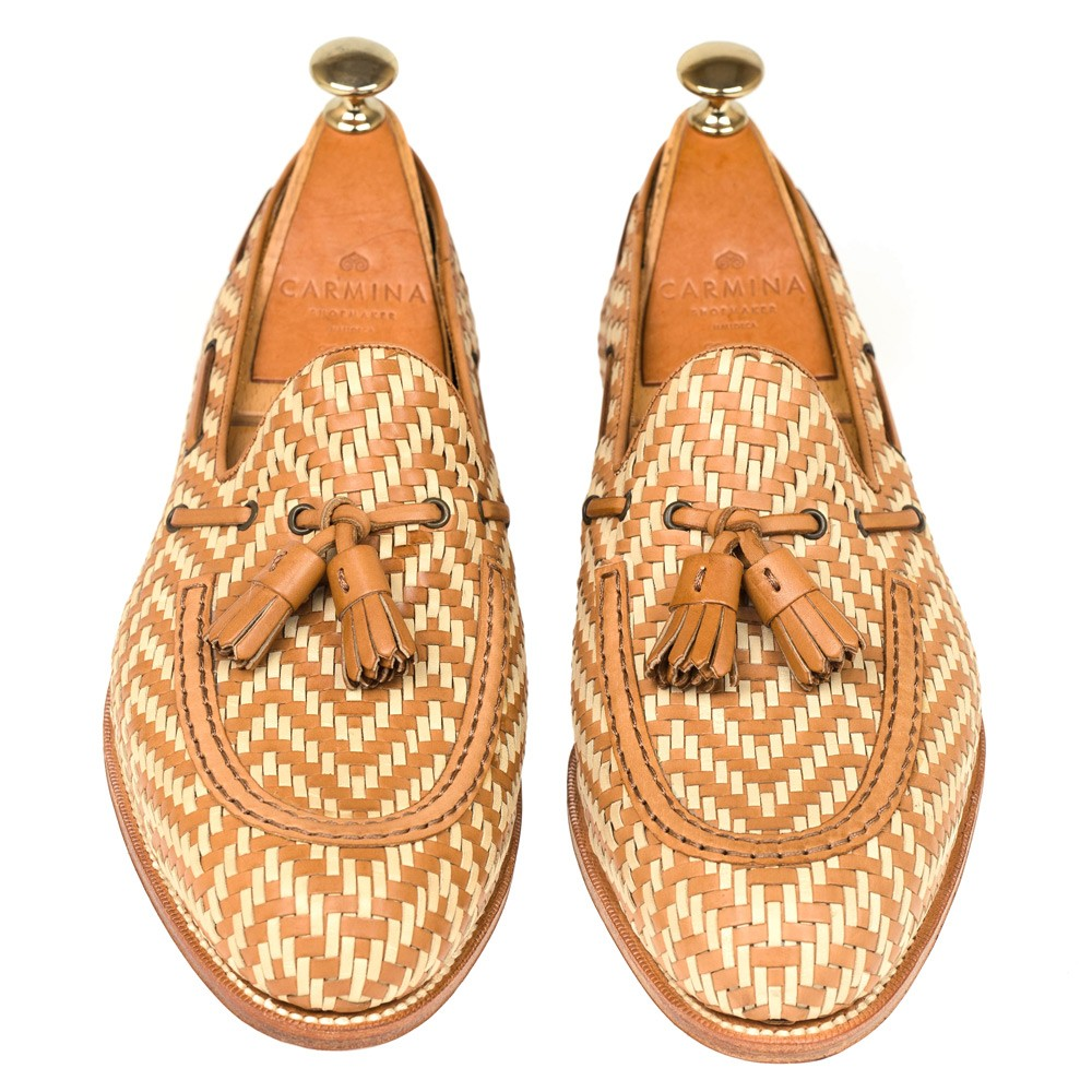 BRAIDED TASSEL LOAFERS 80299 FOREST