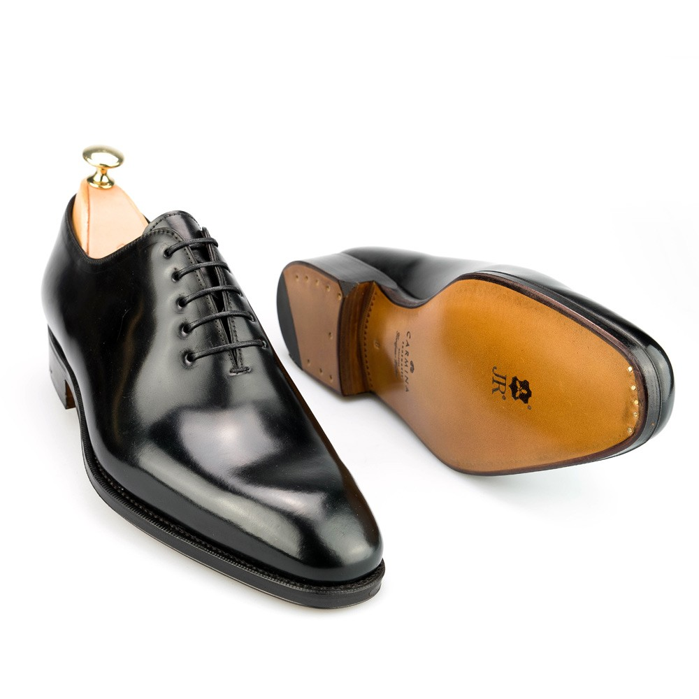 Black Wholecut Cordovan Leather Oxford Shoes Carmina Shoemaker NafJu9oEr