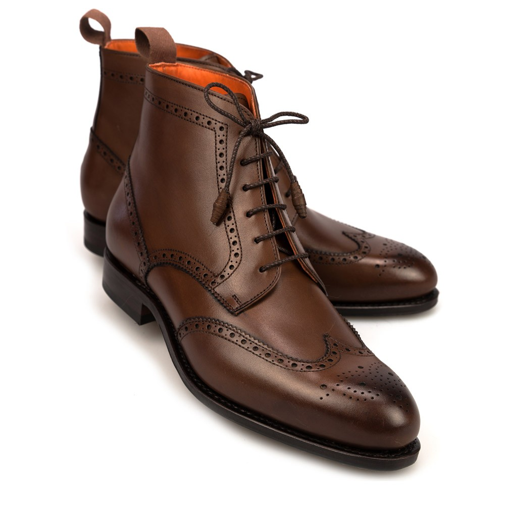 Brown Flat Dress Shoes
