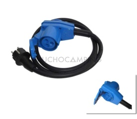 ENCHUFE SCHUKO HEMBRA CABLE 1,5 MT MOD Nº8