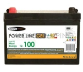 BATERIA DE GEL 100 AH POWERLINE