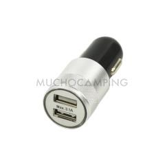 CARGADOR USB 2 TOMAS 12V/24V 3100mA