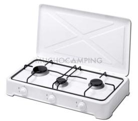 Cocinas De Gas Pequenas.Cocina Camping Gas 3 Fogones Bianca