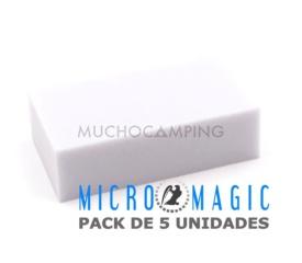 SET 5 ESPONJAS MICROMAGIC