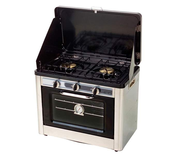 Horno cocina port til cocina camping muchocamping for Cocina de gas portatil