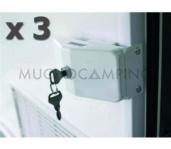 SET 3 CIERRES SAFE DOOR THULE MISMA LLAVE