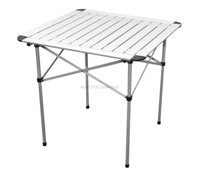 Mesa plegable aluminio gp2 accesorios camping muchocamping for Mesas plegables para camping