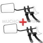 PACK 2 RETROVISORES CARAVANA LUXE PLUS