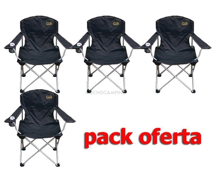Sillas Plegables Baratas.Pack 4 Sillas Camping Plegables Accesorios Camping Muchocamping