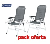 PACK DUO PLUS SILLAS OUTWELL MELVILLE 2018