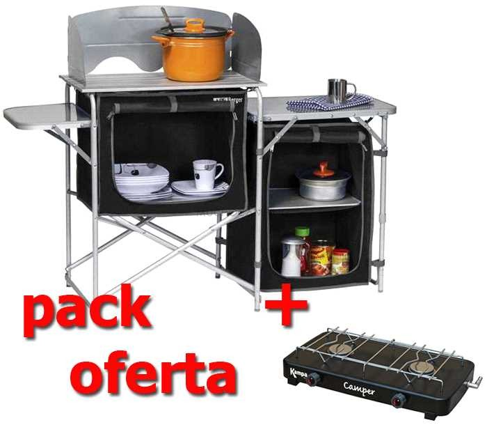 Pack Kitchen S-III - Cocina camping | Muchocamping
