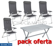 PACK MIDLAND EXCLUSIVE MESA GP6 + SILLAS ECO HAUT