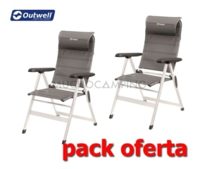 PACK DUO PLUS SILLAS OUTWELL MILTON