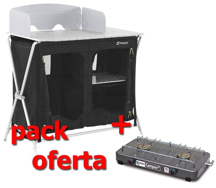 Mueble Cocina Camping Outwell Sudbury Pack Kitchen | Muchocamping