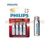 PILAS ALCALINAS PHILIPS LR6 AA