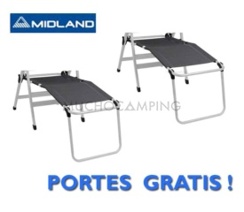 PACK DUO REPOSAPIERNAS MIDLAND ECO HAUT