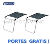 PACK DUO REPOSAPIERNAS OUTWELL DAUPHIN