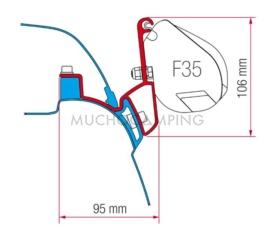 SOPORTE FIAMMA F35 VW T5 CALIFORNIA