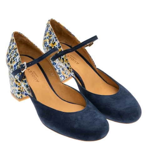 court shoes, navy shoes, audley