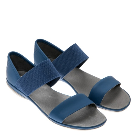confortable sandals, camper, women flat sandals, right nina