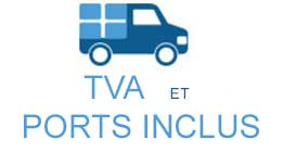 TVA et PORTS INCLUS