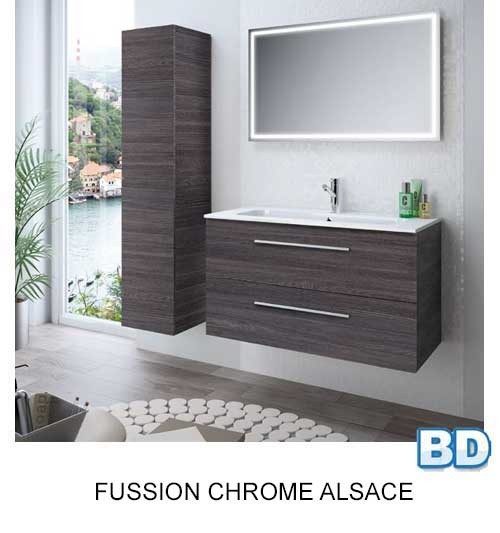 Fussion Chrome Salgar - Meuble salle de bain - Article4